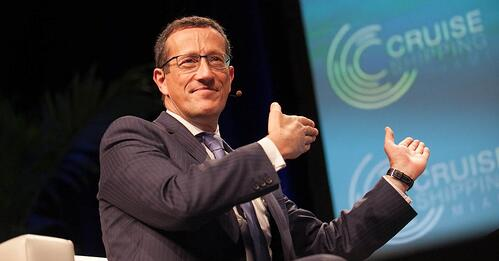 Richard Quest CNN Oslo Business Forum