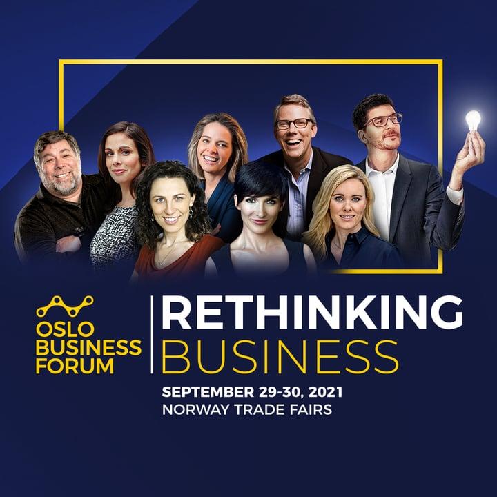 Oslo Business Forum 2021: Rethinking Business