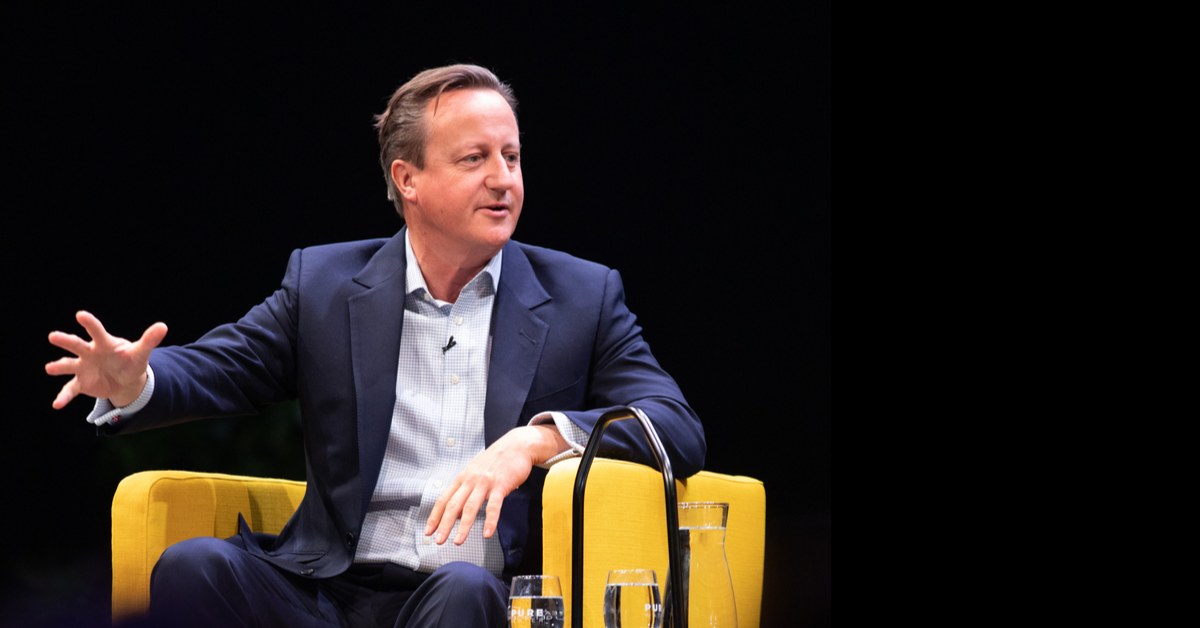 David Cameron at Oslo Business Forum